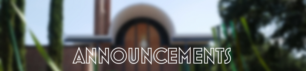 Submit an Announcement